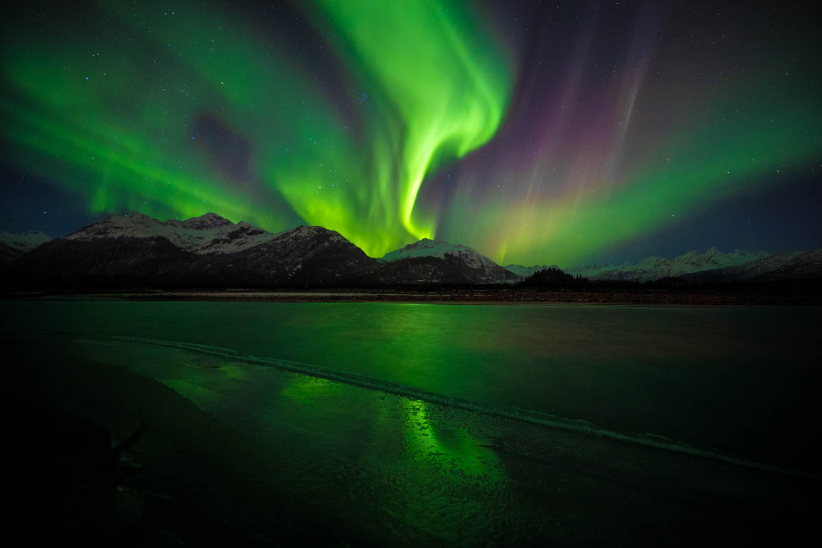 Northern Lights Viewing in Valdez, Alaska