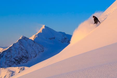 Valdez backcountry skiing