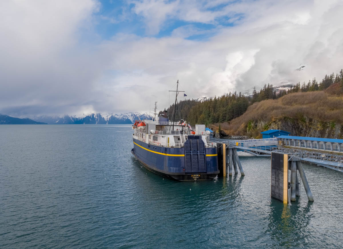 Ferry in Valdez, Alaska