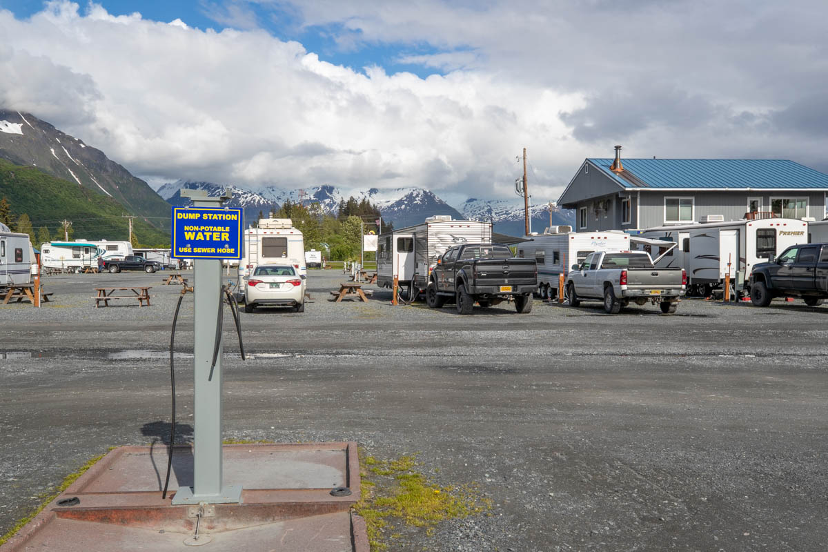RV Waste Disposal in Valdez, Alaska