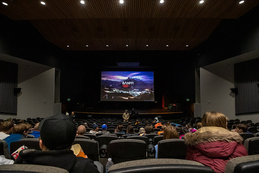 Movie Theater in Valdez, Alaska